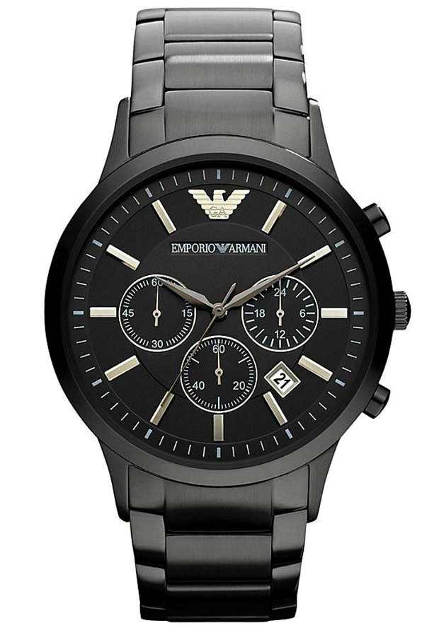 Мужские Наручные Часы Emporio Armani AR2453 Черные