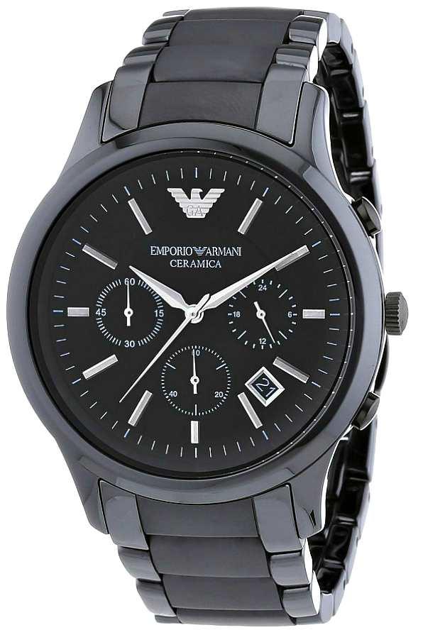 Керамические Часы Emporio Armani Мужские Черные AR1451