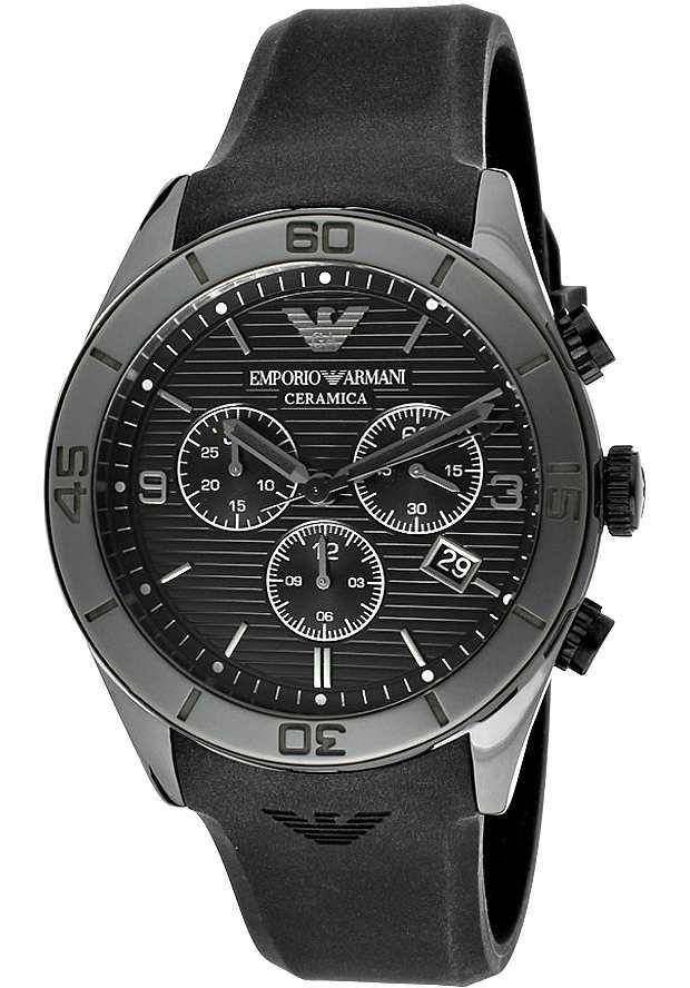Керамические Часы Мужские Emporio Armani Черные AR1434