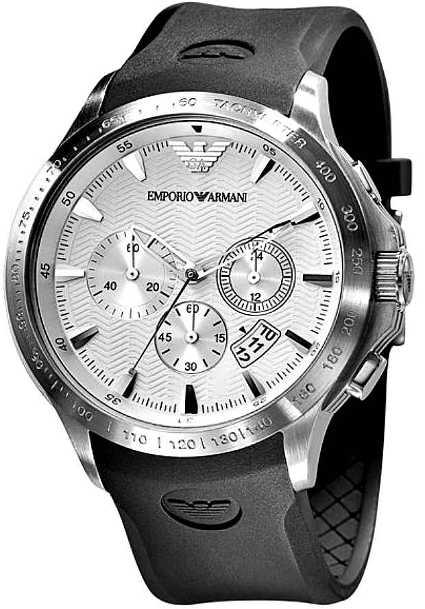 Спортивные Часы Мужские Armani AR0634 с хронографом