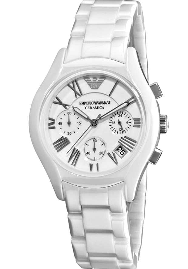 Керамические Часы Женские Emporio Armani Белые AR1404