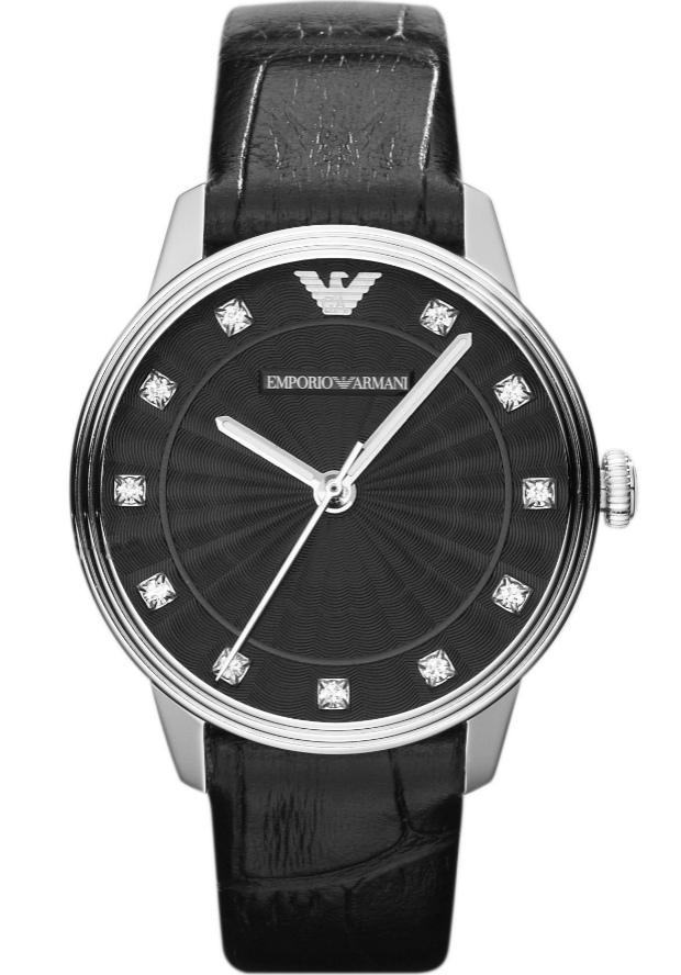 Часы Черные Женские Emporio Armani AR1618