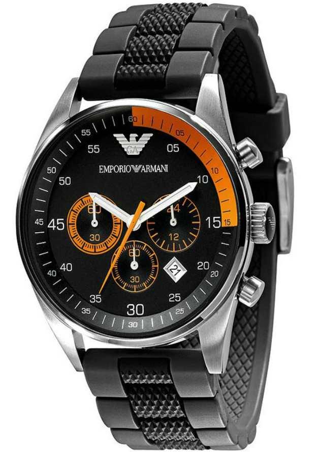 Часы Наручные Emporio Armani Мужские Спортиво AR5878