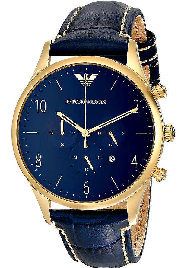 Часы Emporio Armani Мужские Синие AR1862